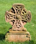 One of many exquisite crosses